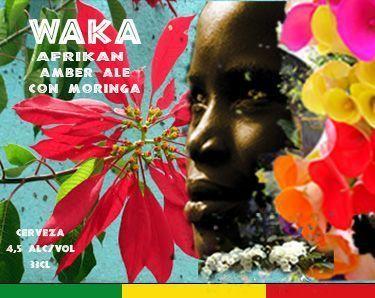 Waka, Afrikan amber ale con moringa