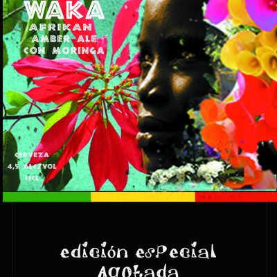 Cerveza Waka con moringa, una african amber ale